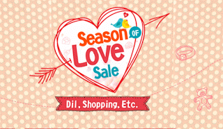 shopclues season of love sale