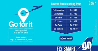 GoAir go for it sale flights offers