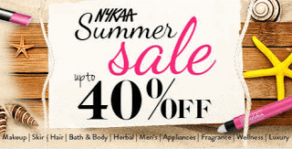 Nykaa summer anniversary sale offer
