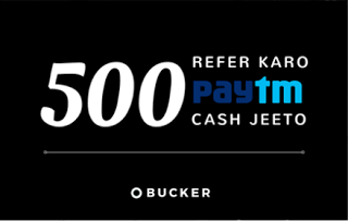 bucker app refer and win free rs paytm cash loot