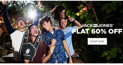 jabong jack and jones flat  off discount offer