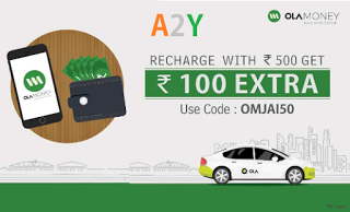 ola money rs free chandigarh offer