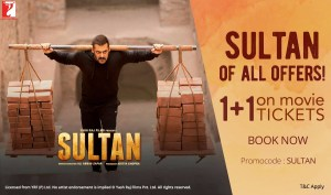 sultan  cashback on nd ticket