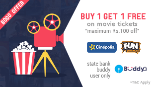 Fastticket Get flat Rs  off on movie tickets funcinemas cinepolis