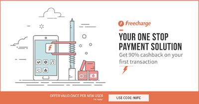 freecharge get  cashback on recharges