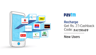 paytm recharge loot offer rs cashback paytmapp