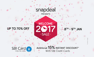 snapdeal welcome  sale